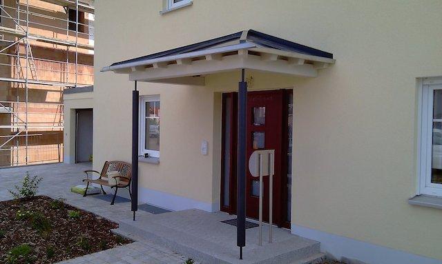 überdachungen Eingangsbereich zimmerei michael braun carport überdachung